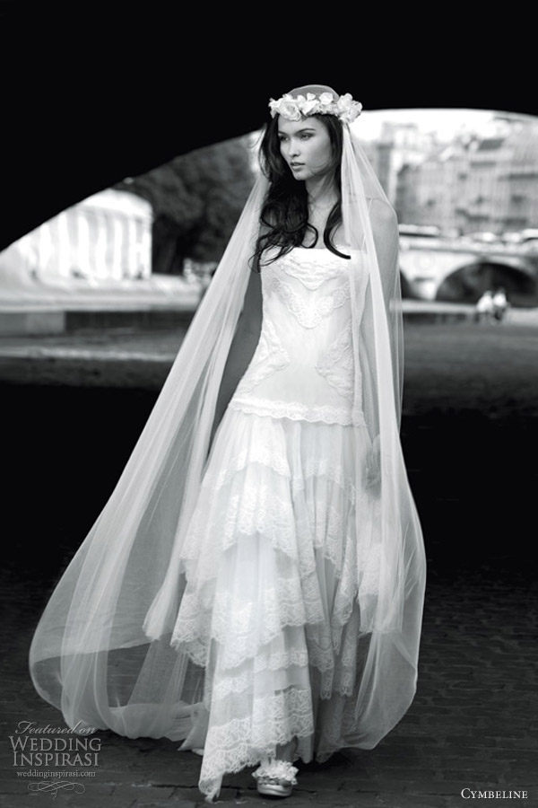 Cymbeline wedding dresses 2013 wedding inspirasi for Vintage wedding dresses paris
