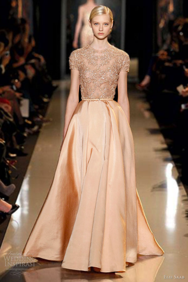elie saab spring summer 2013 couture dresses wedding