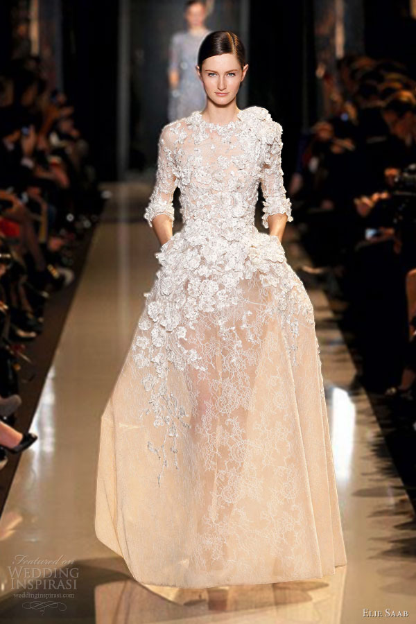 Elie Saab Spring/Summer 2013 Couture Dresses | Wedding Inspirasi
