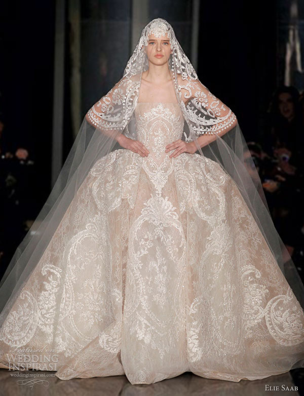 Elie saab springsummer 2013 couture dresses wedding inspirasi elie saab spring 2013 couture wedding dress junglespirit