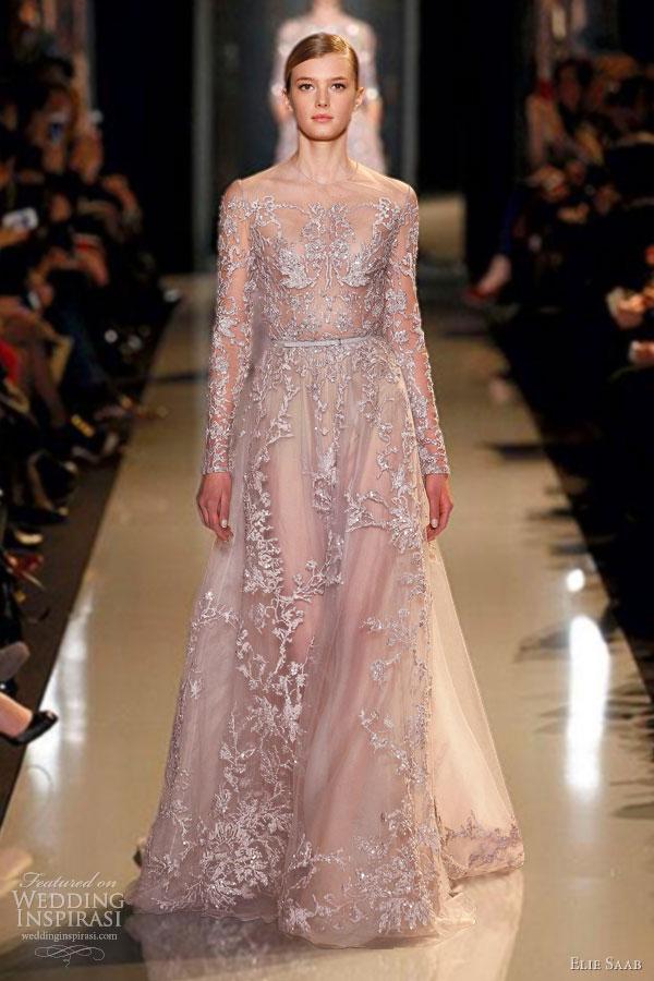 Elie Saab Spring Summer 2013 Couture Dresses Wedding