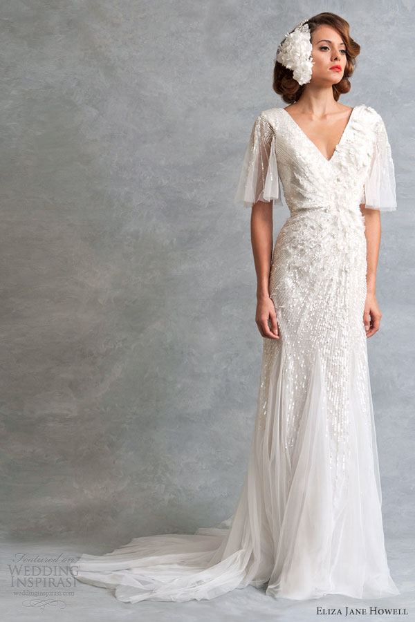 Eliza jane howell wedding dresses legend bridal for Antique inspired wedding dresses
