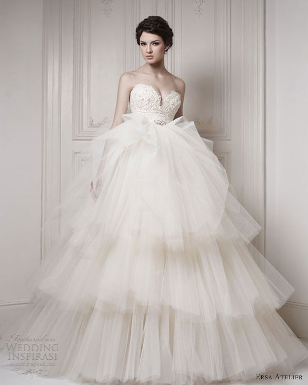 Wedding Gown 2013: Ersa Atelier Wedding Dresses 2013