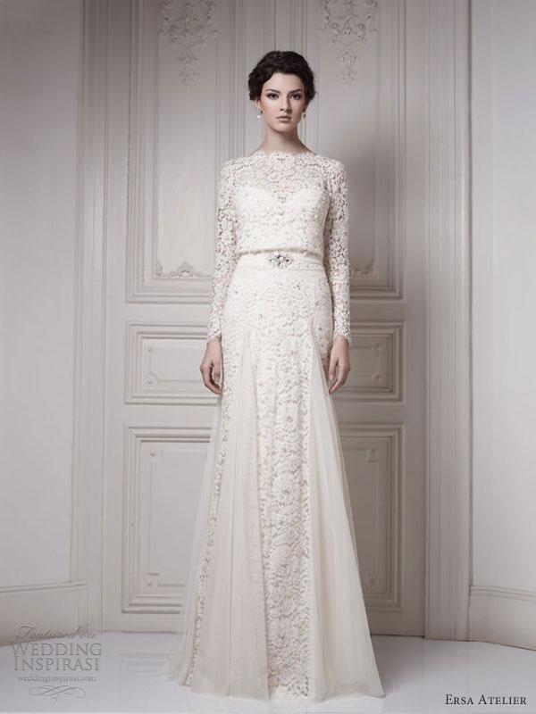Ersa Atelier Wedding Dresses 2013 Make Way For The Queen