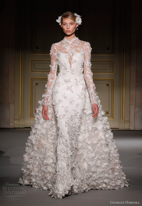 georges hobeika spring 2013 couture wedding dress