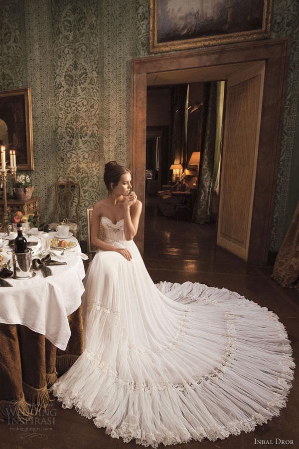 inbal dror 2012 2013 wedding dress