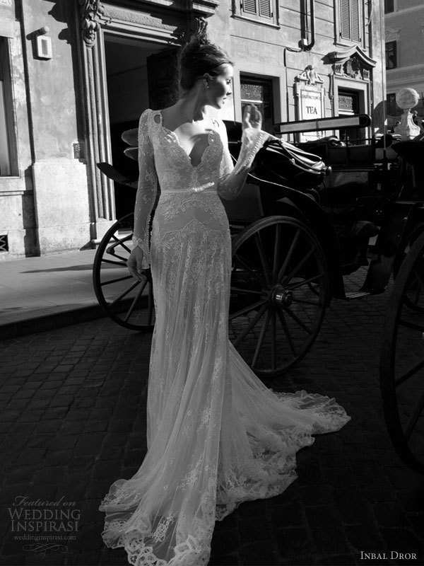 inbal dror 2012 wedding dress full