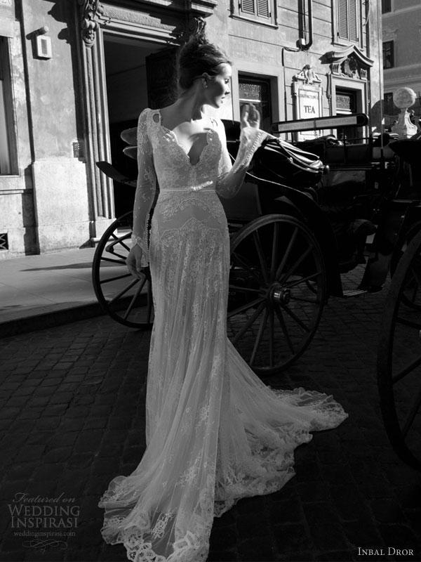 inbal dror 2012 wedding dress full
