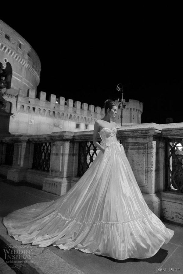 inbal dror wedding dress pockets