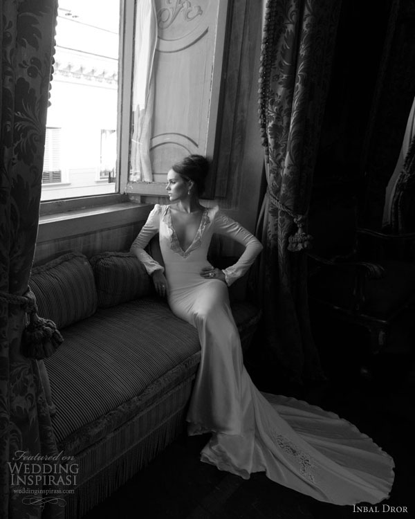 inbal dror wedding dresses long sleeves