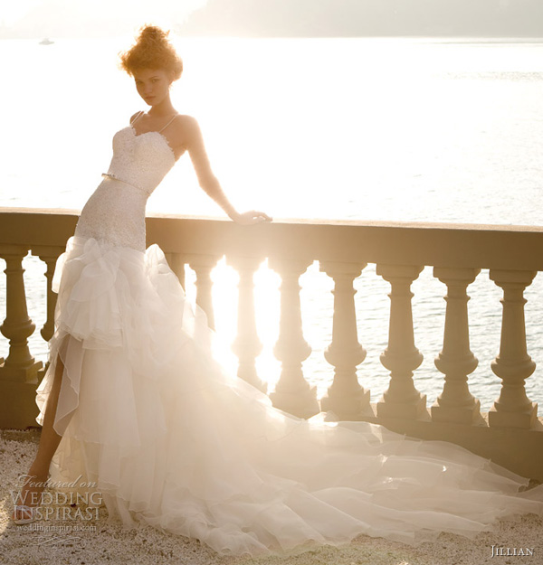jillian 2013 high low wedding dresses