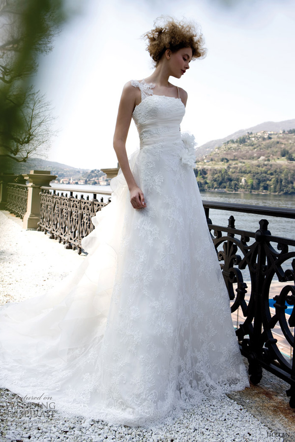 jillian bridal 2013 lace wedding dress