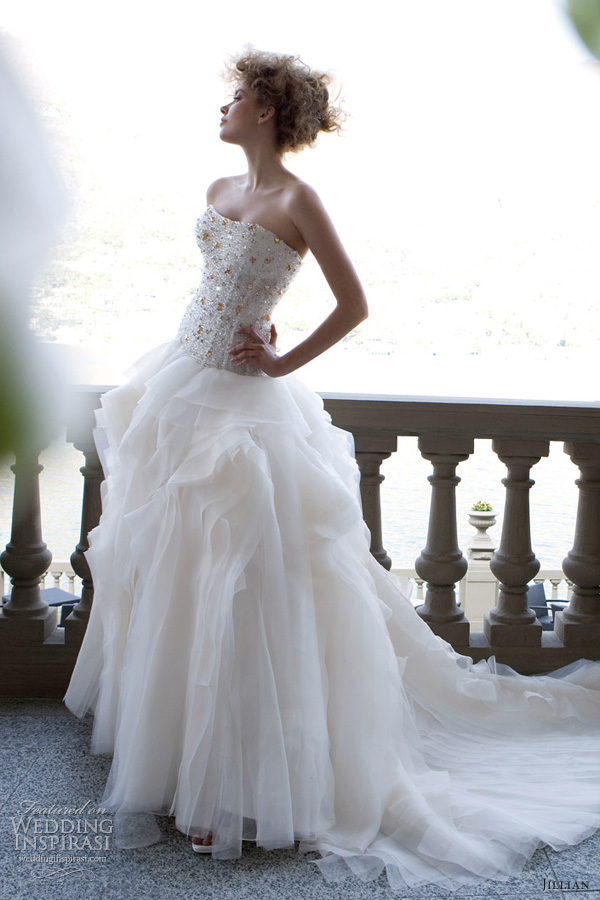 jillian sposa 2013 strapless ball gown