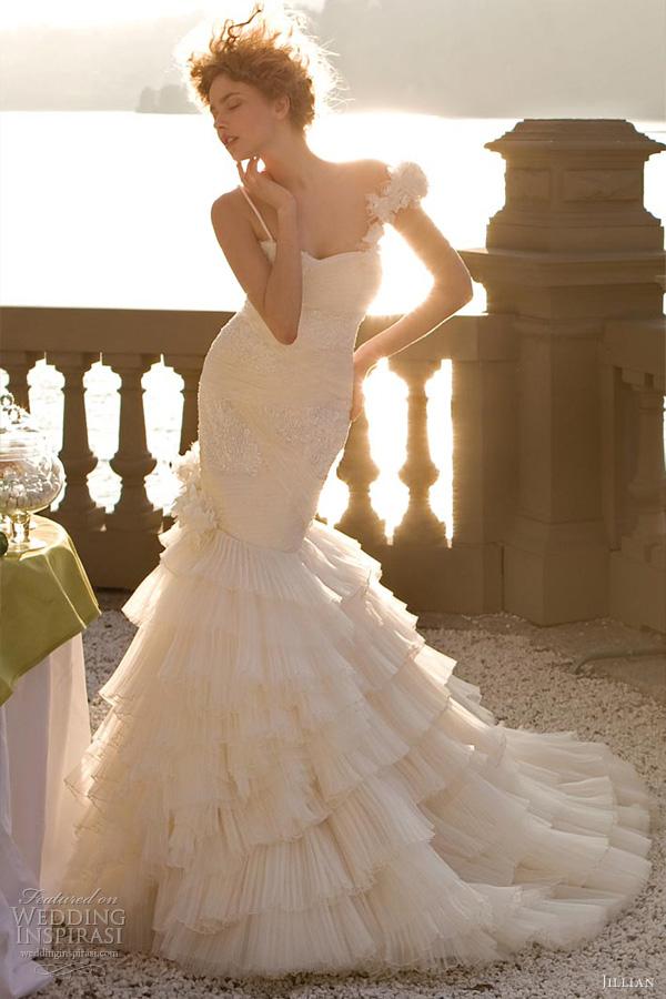 jillian wedding dresses 2013 mermaid bridal gown
