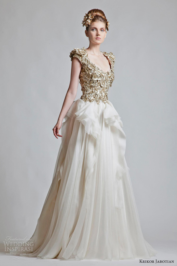 krikor jabotian bridal fall 2012 2013 wedding dresses