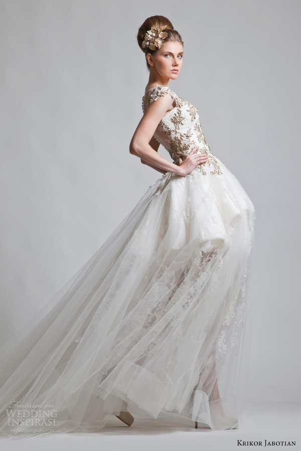krikor jabotian wedding dresses fall 2012 2013