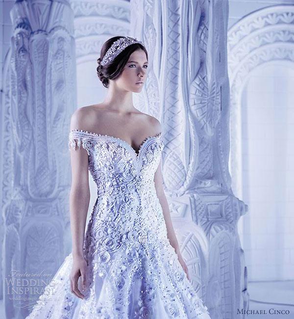 michael cinco 2013 couture wedding dresses