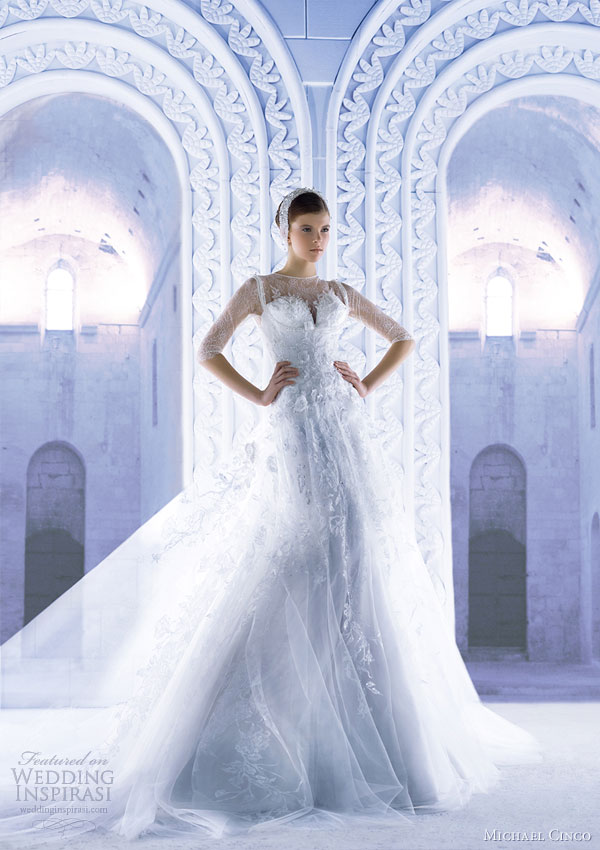 Michael Cinco Wedding Dresses Spring 2013 Wedding