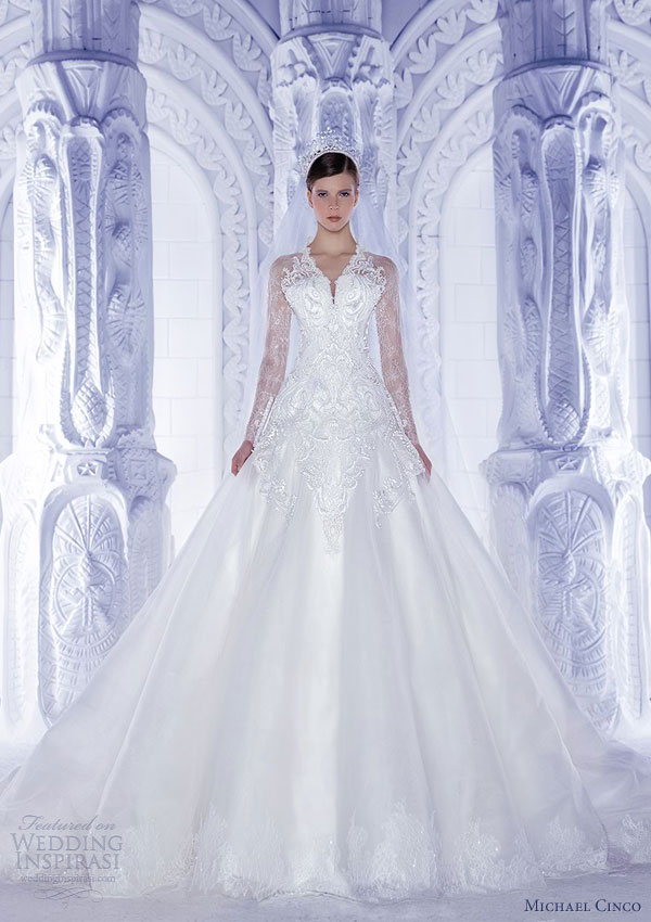 Michael Cinco Wedding Dresses Spring 2013 | Wedding Inspirasi