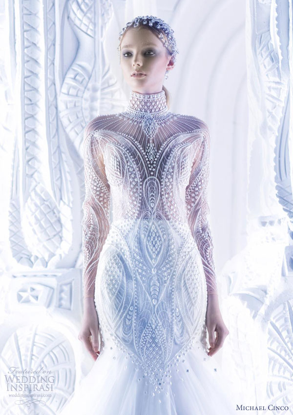 Michael Cinco Wedding Dress 2017 Couture