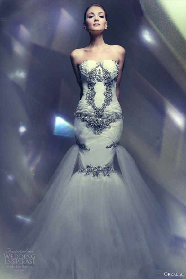 Wedding dresses orkalia 2013 couture wedding dresses wedding inspirasi