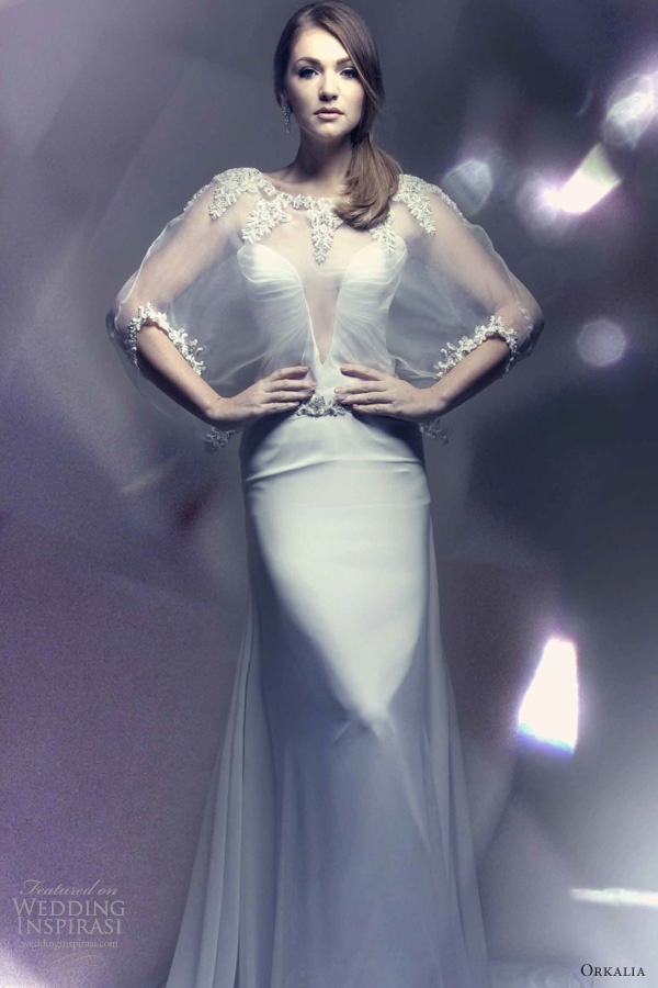 orkalia wedding dresses 2013 bridal couture gown