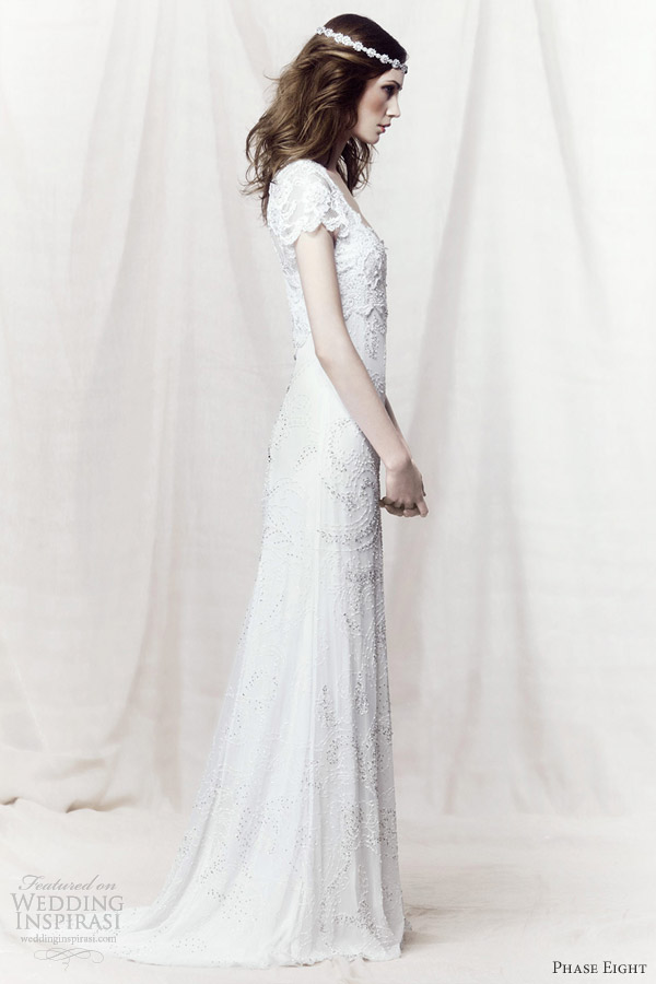 phase eight 2013 eliza wedding dress lace cap sleeves