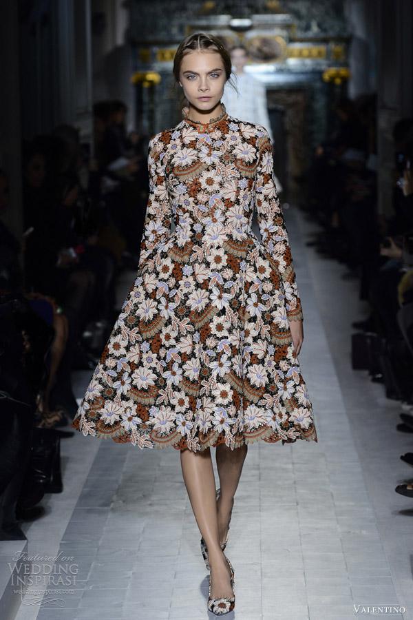 Valentino spring summer 2013 couture wedding inspirasi for Valentino short wedding dress