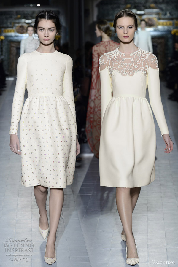 Valentino Spring Summer 2013 Couture Wedding Inspirasi