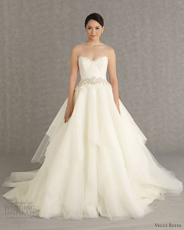 Wedding Gown 2013: Veluz Reyes Wedding Dresses 2013