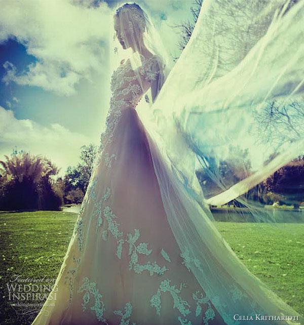celia kritharioti bridal 2013