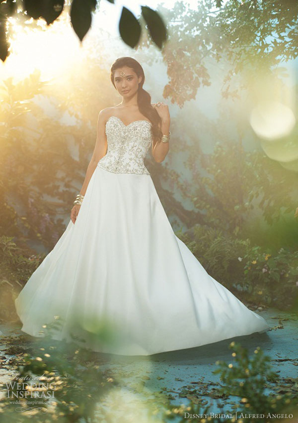 disney fairy tale wedding dress alfred angelo 2013 jasmine