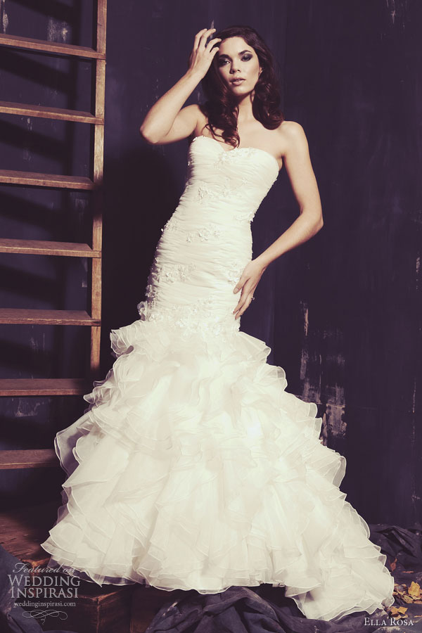 Ella Rosa Wedding Dresses Spring 2013 | Wedding Inspirasi
