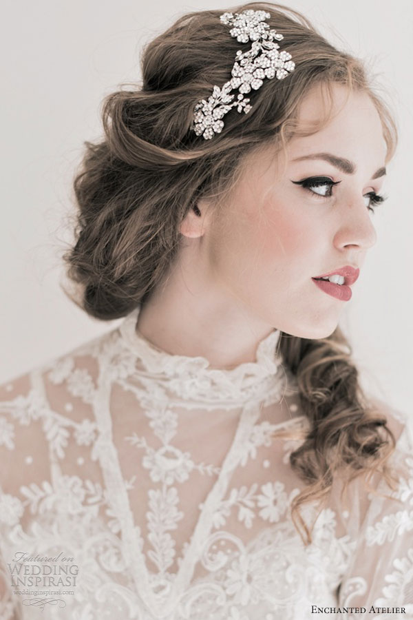 enchanted atelier fall 2013 bridal accessories brielle hair piece