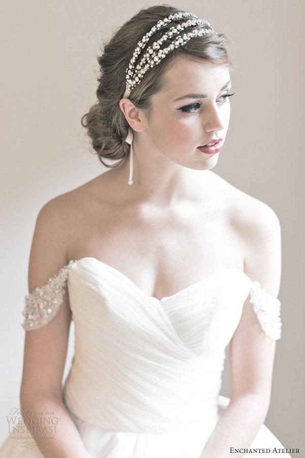 Enchanted Atelier Fall 2013 Bridal Accessories Wedding Inspirasi