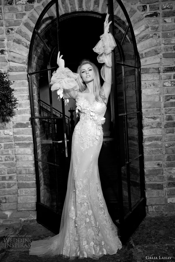 galia lahav 2014 rose bridal gown