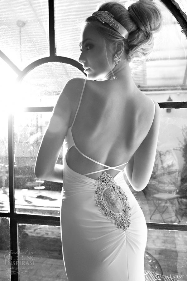 galia lahav couture glamorous wedding dresses 2014 brigette screen siren gown