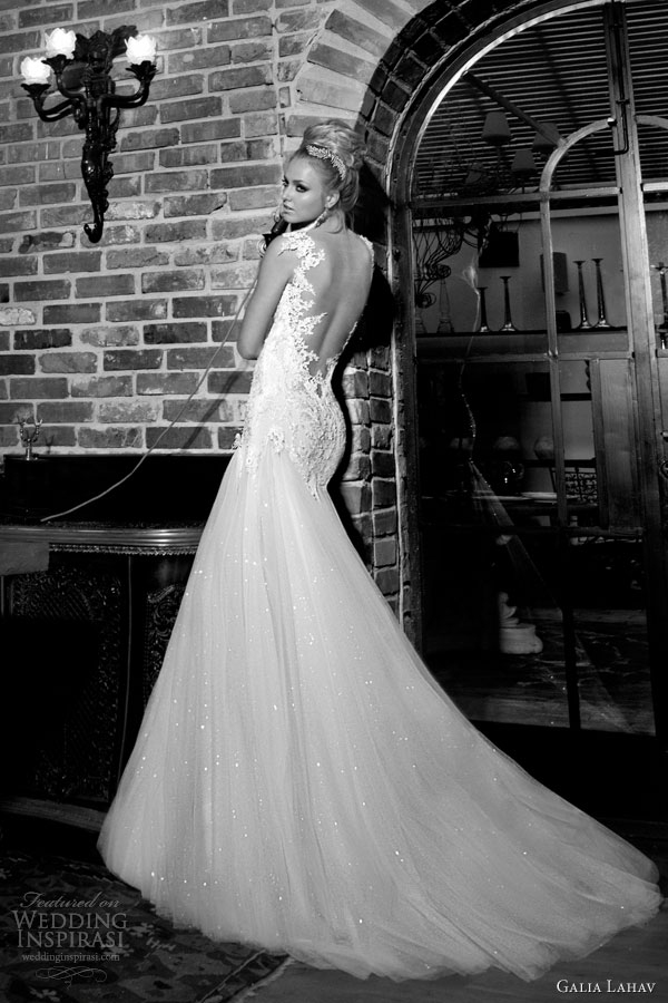 Galia lahav 2013 2014 bridal collection wedding inspirasi page 2 galia lahav couture wedding dresses 2014 giselle bridal gown back junglespirit Images