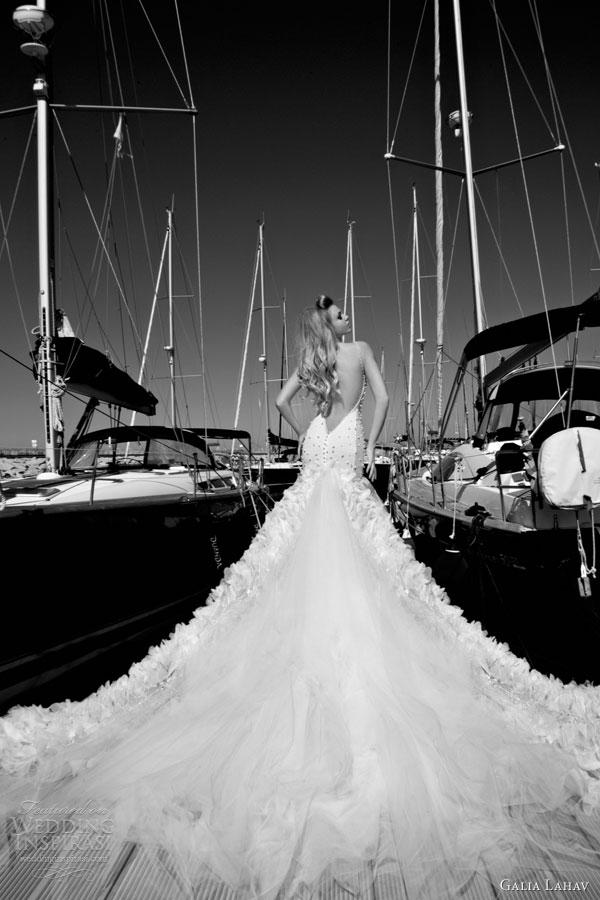 galia lahav wedding dresses 2013 2014 pearl gown train