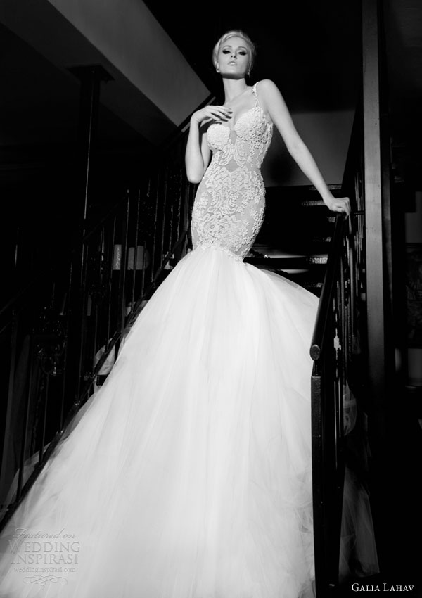galia lahav wedding dresses  2014 patchouli mermaid gown