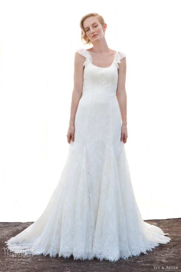 ivy aster fall 2013 secret garden wedding dress