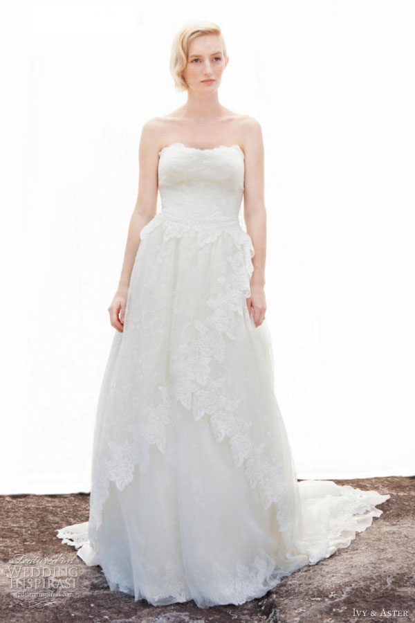 Ivy & Aster Fall 2013 Wedding Dresses