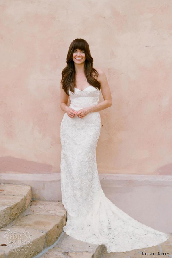Kirstie kelly wedding dresses 2013 wedding inspirasi for Daisy lace wedding dress