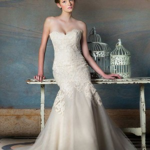 liancarlo blush wedding dresses fall 2013 bridal style 5833