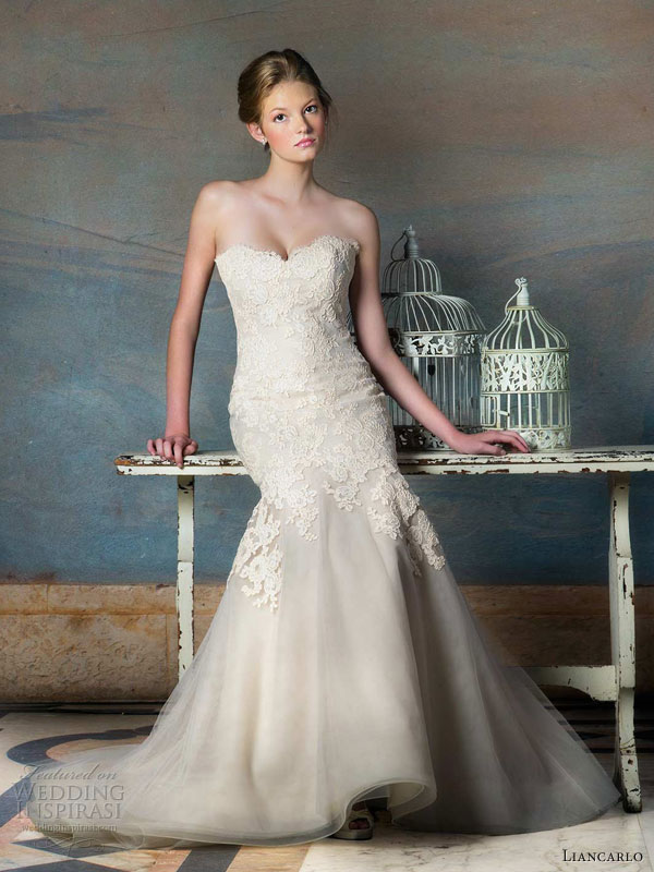Fall Wedding Gowns : Liancarlo fall wedding dresses inspirasi