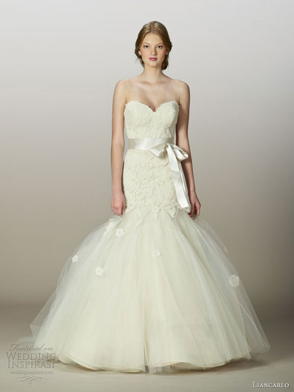 Pink Wedding Dresses Mermaid Style : Liancarlo fall wedding dresses inspirasi