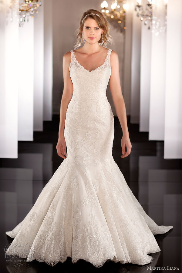 martina liana fall 2013 sleeveless tank wedding dress432