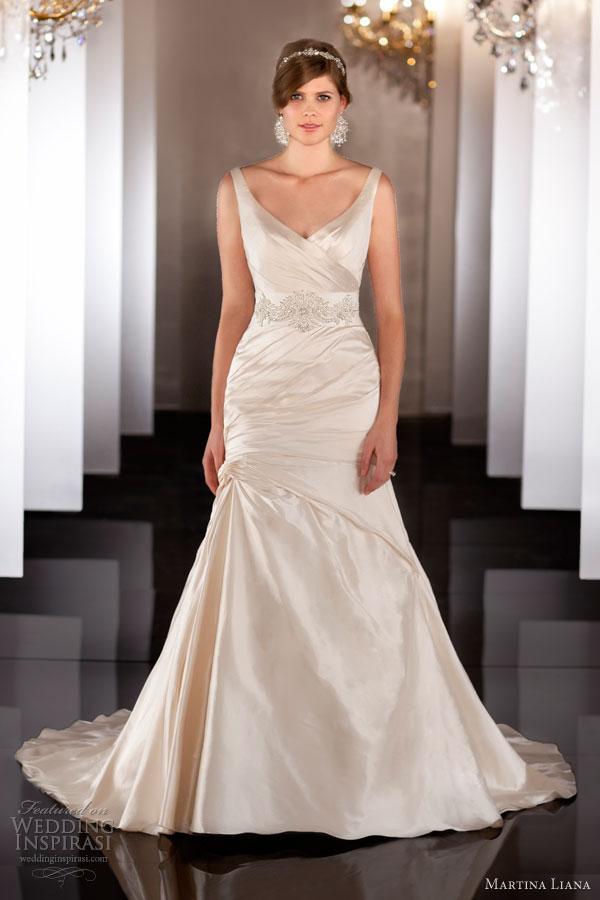 martina liana fall 2013 wedding dress style 462 sleeveless straps