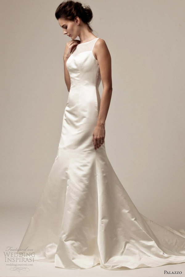 palazzo bridal by jane white 2013 sabrina sleeveless wedding dress