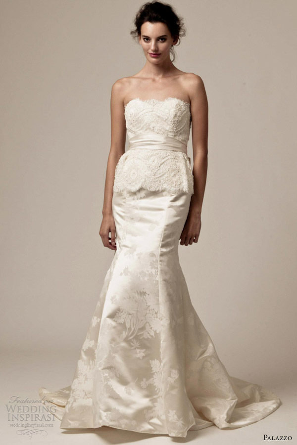 palazzo bridal wedding dresses 2013 elizabeth